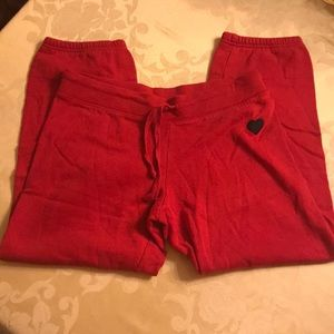 Red Sz M Juniors Sweatpants